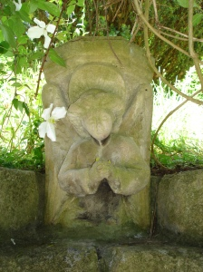 Angel at Chalice Well