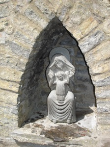 Statue at Chalice Well