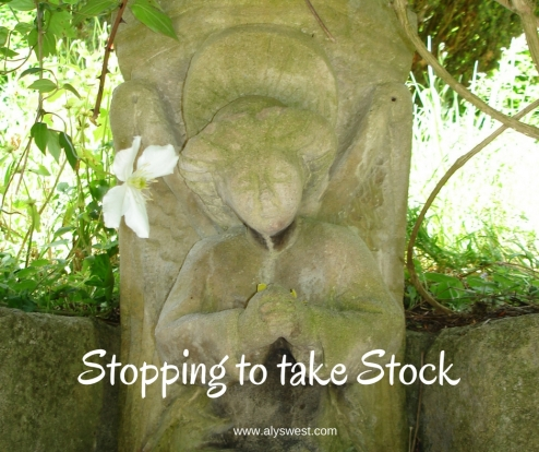 Stopping to take Stock