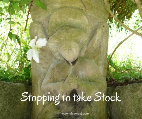 Stopping to take Stock
