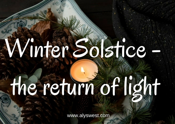 Winter Solstice - the return of light